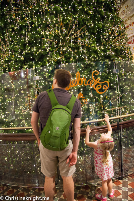 QVB Christmas in Sydney 2015 via christineknight.me