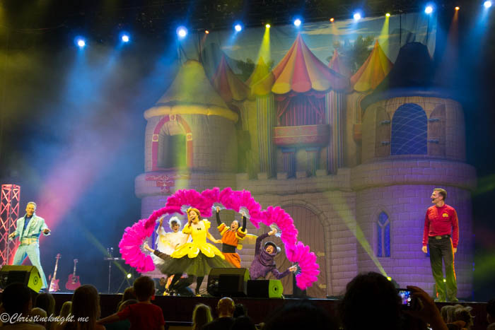 The Wiggles Big Show + Cinder Emma