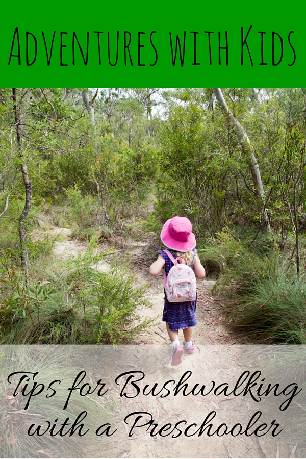 Tips on bushwalking with preschoolers via christineknight.me