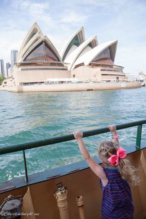 how to go from parramatta to sydney by ferry