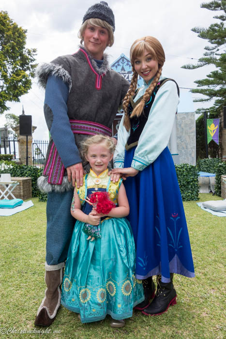 Disney Frozen Garden Party via christineknight.me
