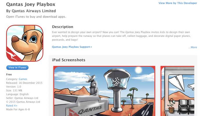 Qantas Joey App