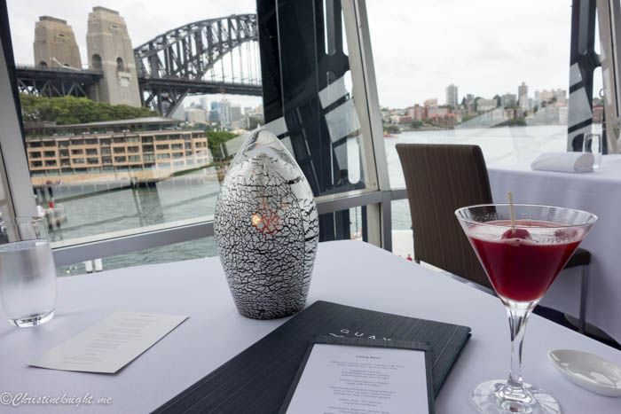 Quay Restaurant #Sydney via christineknight.me