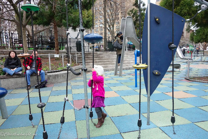 Union Square Playground New York