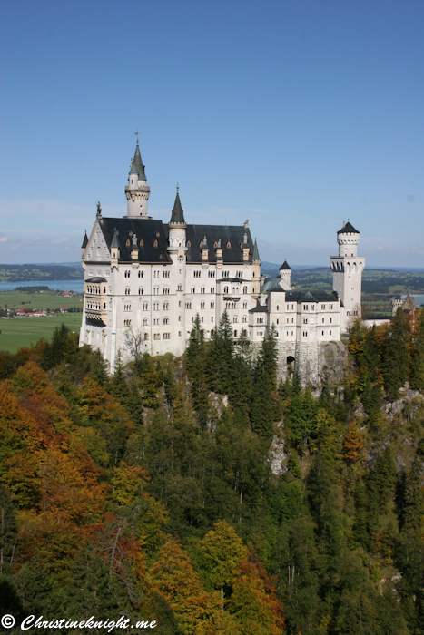 Neuschwanstein Castle via christineknight.me