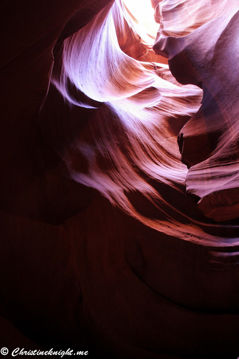 Antelope Slot Canyons via christineknight.me