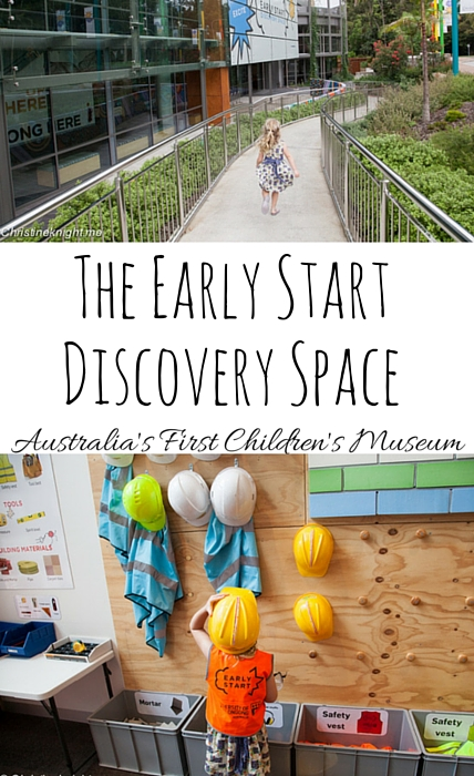 The Early Start Discovery Space via christineknight.me