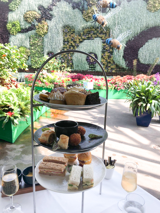 High Tea at the Calyx, Royal Botanic Gardens Sydney