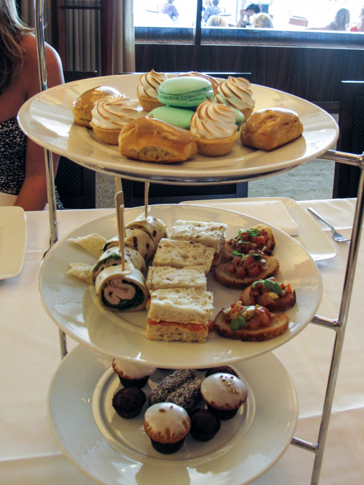Park Hyatt High Tea via christineknight.me