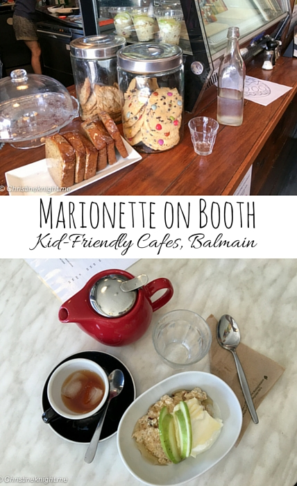 Marionette on Booth: Kid-Friendly Cafes, Balmain
