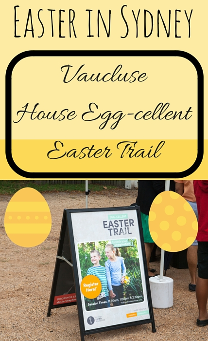 Vaucluse House Egg-cellent Easter Trail via christineknight.me