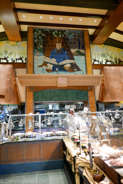 Mickey's Tales of Adventure Breakfast Buffet at Storytellers Cafe, Disneyland's Grand Californian