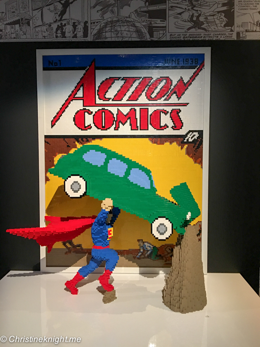 The Art of the Brick: DC Comics via christineknight.me
