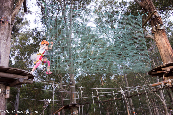 TreeTop Adventure Park Sydney via christineknight.me