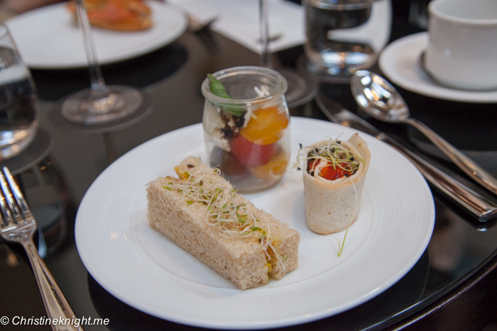 The Cortile, InterContintental: Sydney's best high teas via christineknight.me