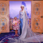 Meeting Anna and Elsa at Epcot's Royal Sommerhus