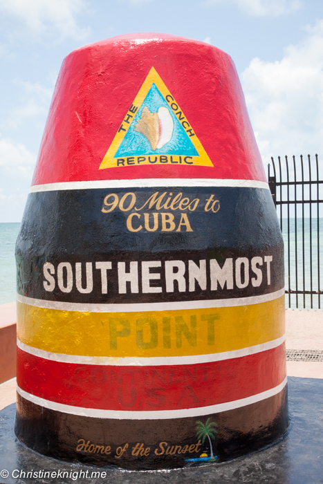 Key West most southern point, Florida Keys, via christineknight.me