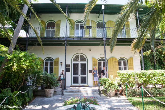 Hemingway's House, Key West, Florida Keys, via christineknight.me
