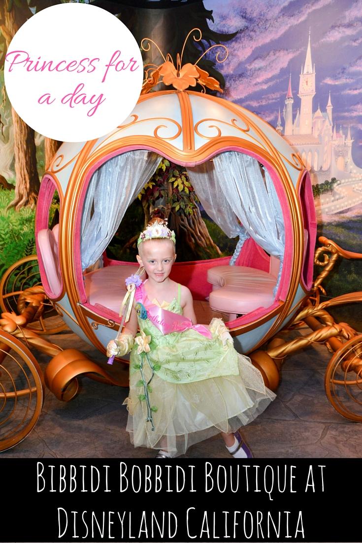 Bibbidi Bobbidi Boutique, Disneyland
