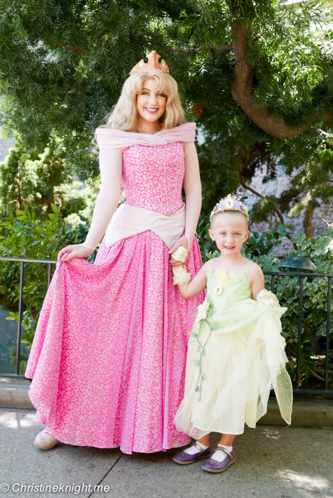 Princesses at Disneyland via christineknight.me