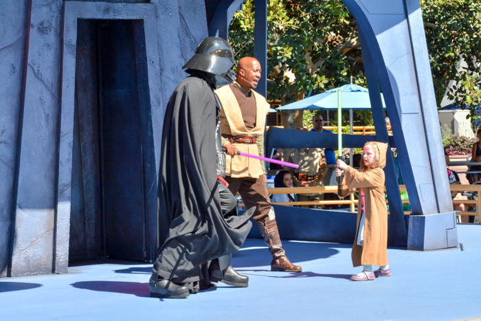 Jedi training Disneyland via christineknight.me