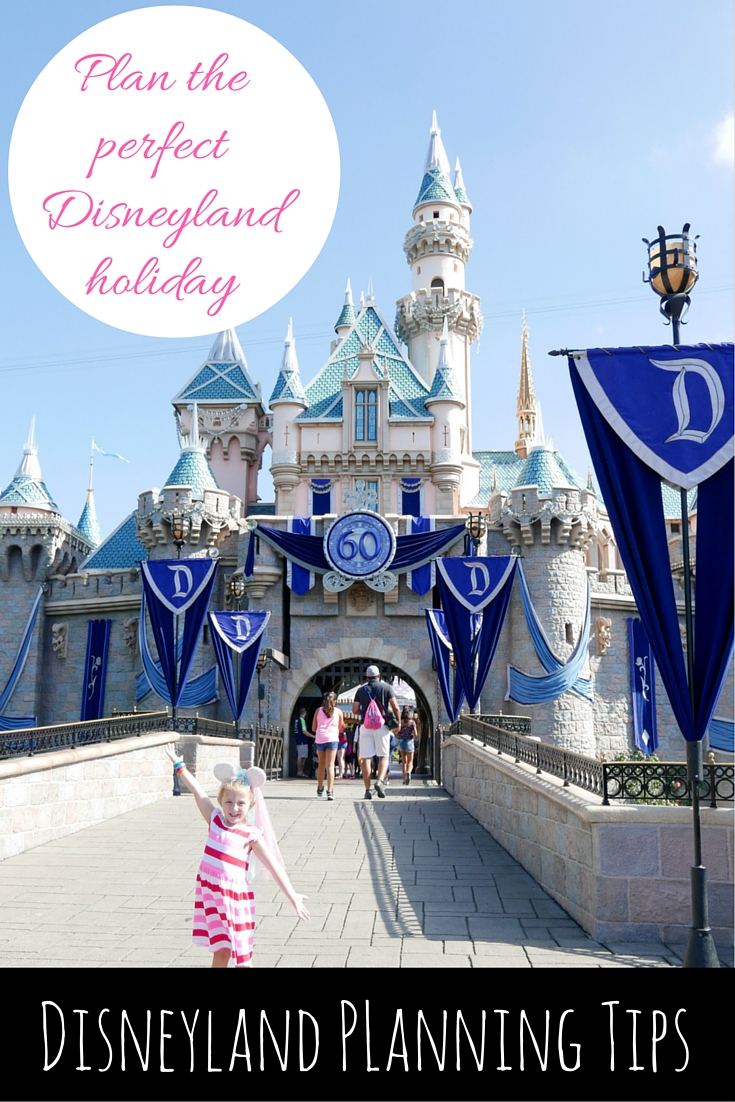Disneyland Planning Tips via christineknight.me