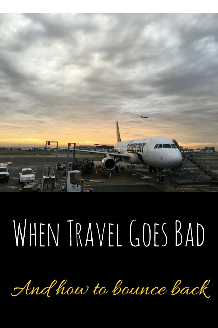 When Travel Goes Bad ... And How To Bounce Back via christineknight.me