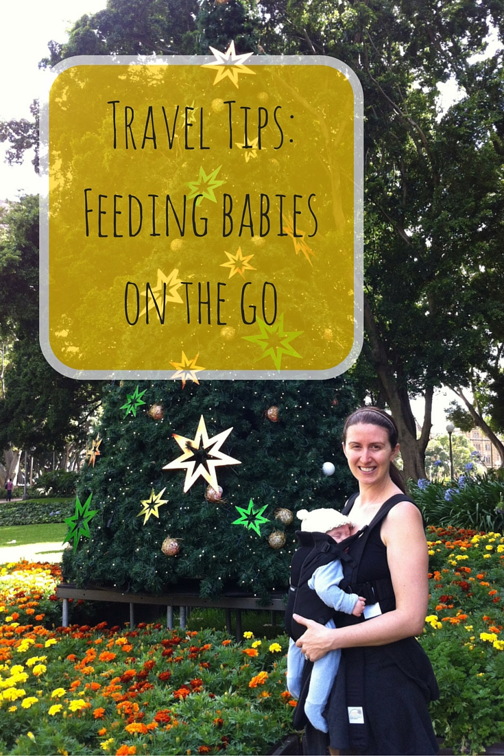 Tips For Feeding Babies On The Go
