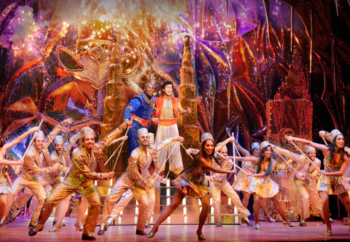 11 Things You Won T Expect From Disney S Aladdin The Musical Comedy Adventure Baby