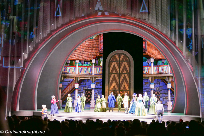 Frozen – Live at the Hyperion, Disney California Adventure Park via christineknight.me