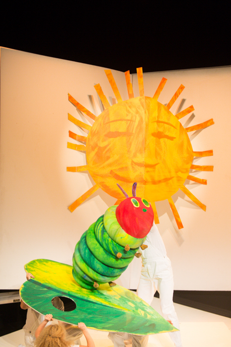The Very Hungry Caterpillar at the Sydney Opera House