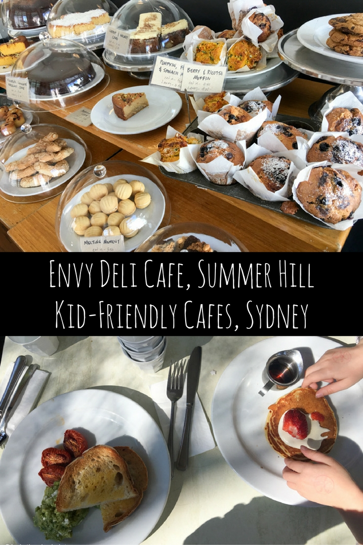 Envy Deli Cafe: Kid-Friendly Restaurants, Summer Hill, Sydney