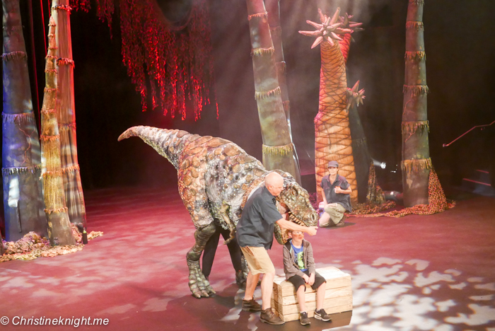 Erth's Dinosaur Zoo Sydney via christineknight.me