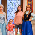 Meet Anna & Elsa at Disney California Adventure Park
