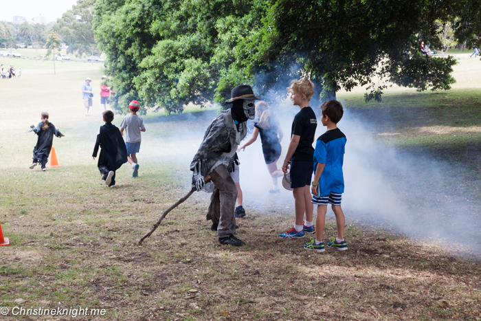 Swamp Monsters: Halloween in Centennial Park, Sydney