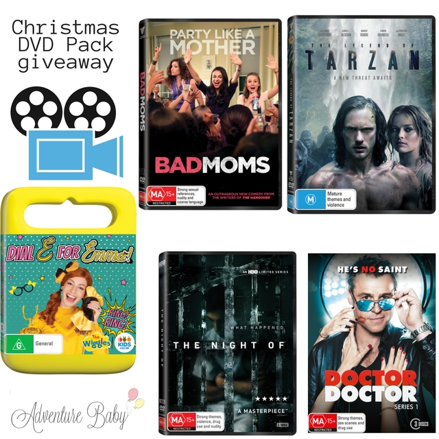 Christmas DVD Pack Giveaway