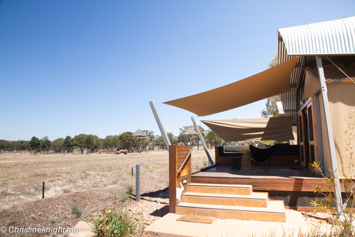 Staying at the Zoofari Lodge, Taronga Western Plains Dubbo Zoo, Australia