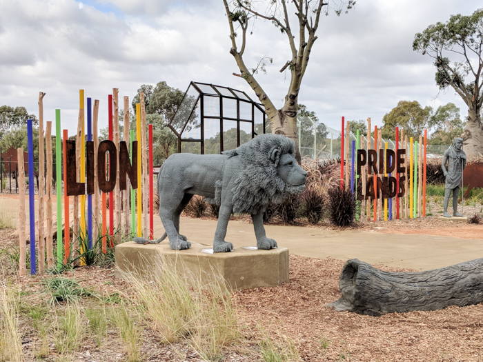 Lion Pride Lands, Dubbo Zoo