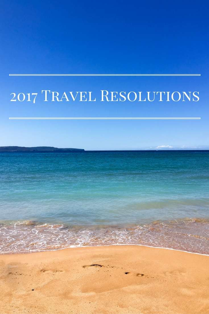 2017 Travel Resolutions