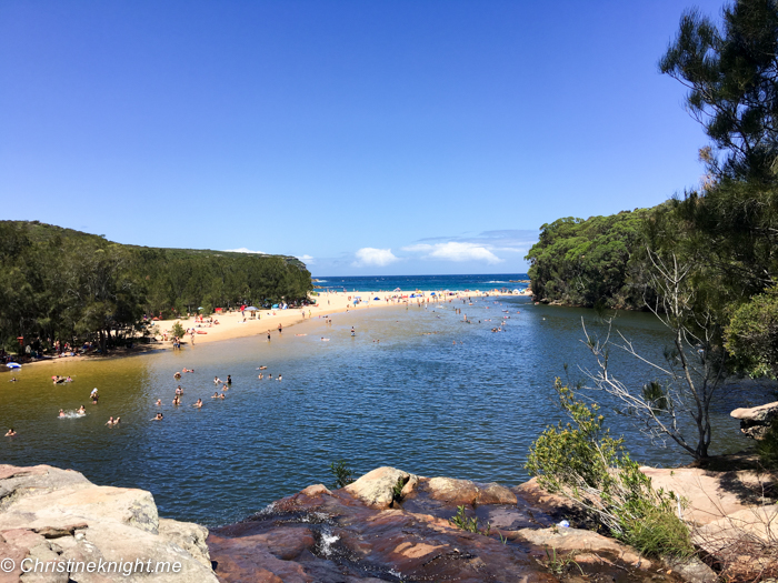 Wattamolla Beach National Park, Sydney, NSW, Australia