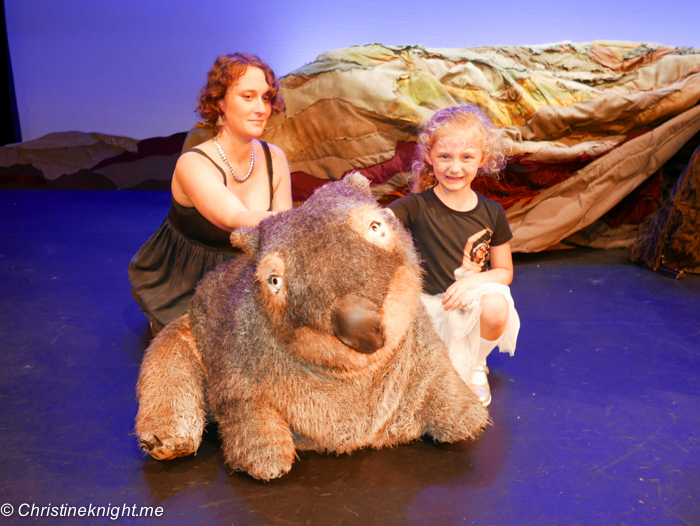 Diary of a Wombat by the Monkey Baa Theatre Company, Sydney