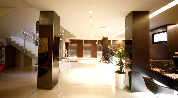 Museum Of Sydney Foyer : Hotel review novotel canberra adventure baby