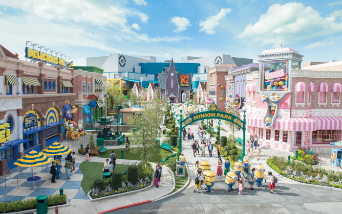 Minion Park at Universal Studios Japan - Adventure, baby!
