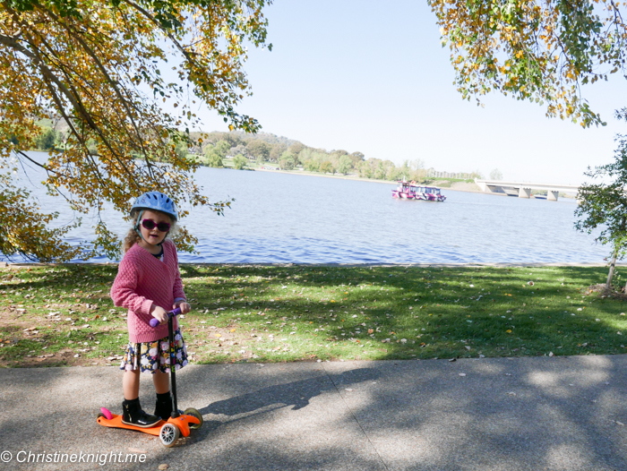 Lake Burley Griffin, Canberra, ACT, Australia