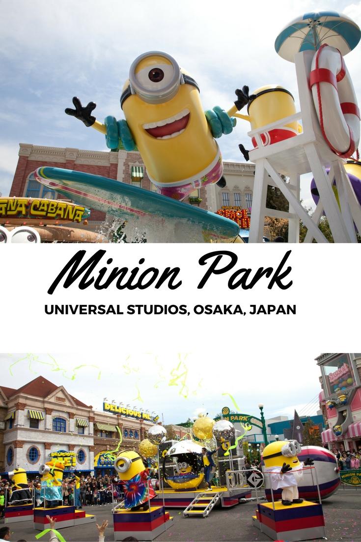 Minion Park, Universal Studios, Osaka, Japan