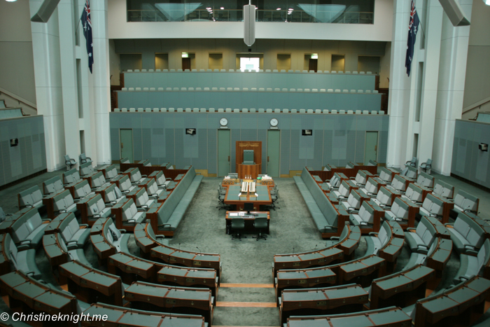 Parliament House, Canberra, ACT, Australia