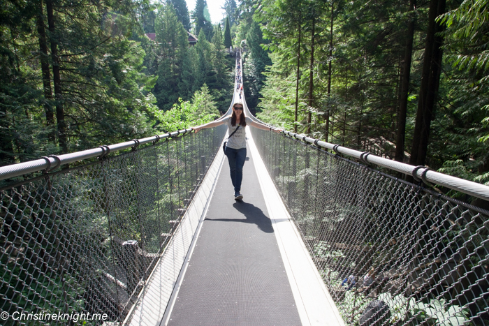 Capilano Suspension Bridge, Vancouver Canada