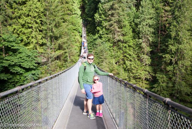 Capilano Suspension Bridge, Vancouver Canada