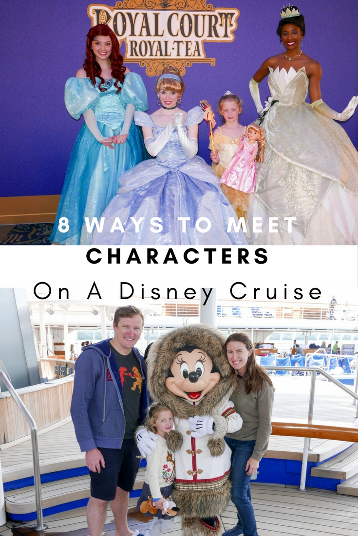 8 Ways To Meet Characters On A Disney Cruise