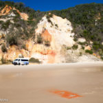 Nine Highlights on the Great Beach Drive and Rainbow Beach, Qld Australia